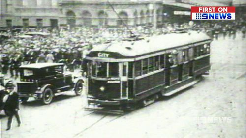 First built in 1923, Melbourne's historic W-Class trams could soon be owned by some lucky Australians. Picture: 9NEWS.