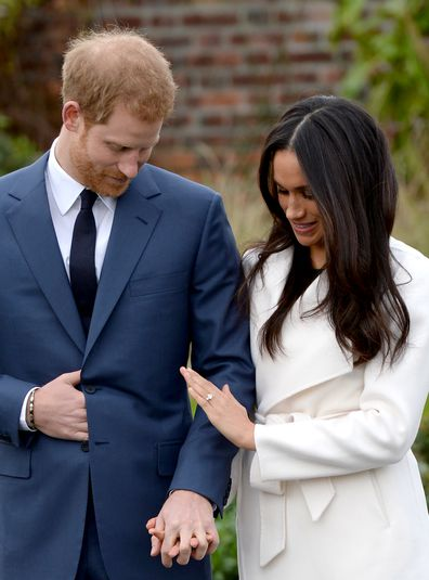 Prince Harry created a custom design for Meghan Markle's engagement ring.