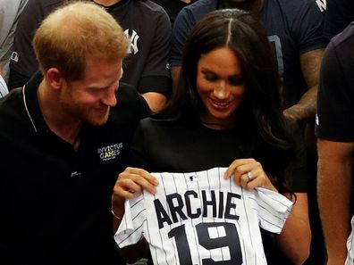 The couple were given an adorable gift for son Archie.