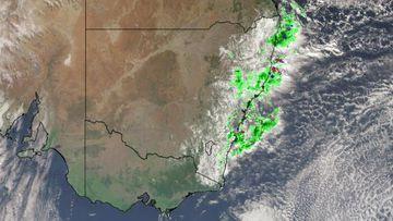 Big wet arrives with heaviest falls in weeks