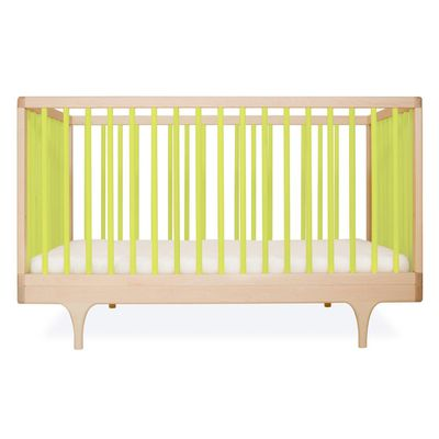 "<a href=""https://www.kidostore.com/collections/furniture-baby-furniture/products/caravan-cot"" target=""_blank"">Kalon Studios Caravan Cot, $1495.</a>"