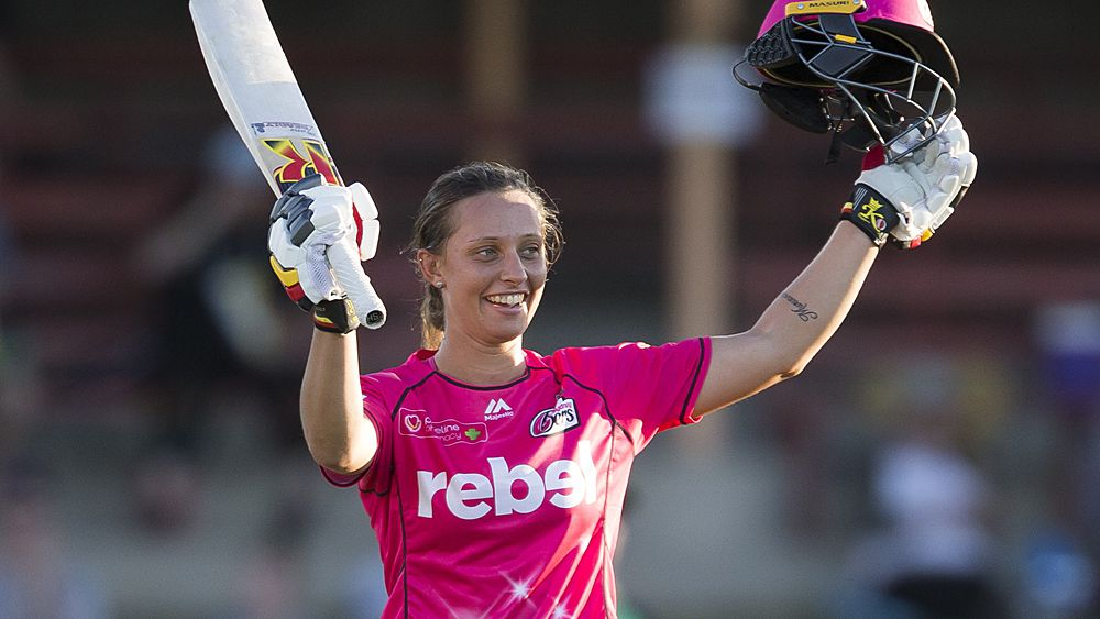 Cricket: Sydney Sixers post record WBBL score hours after Thunder
