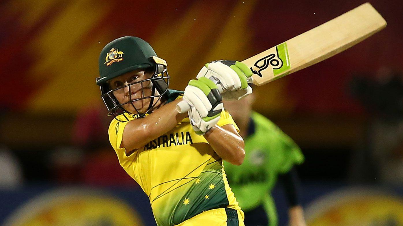 Alyssa Healy blasts historic 50 against Ireland in Women's World T20 romp