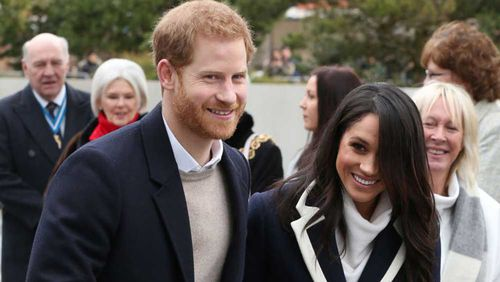 Prince Harry and Meghan Markle have been on a tour of the UK. (PA/AAP)