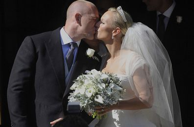 Mike Tindall and Zara Tindall wedding day