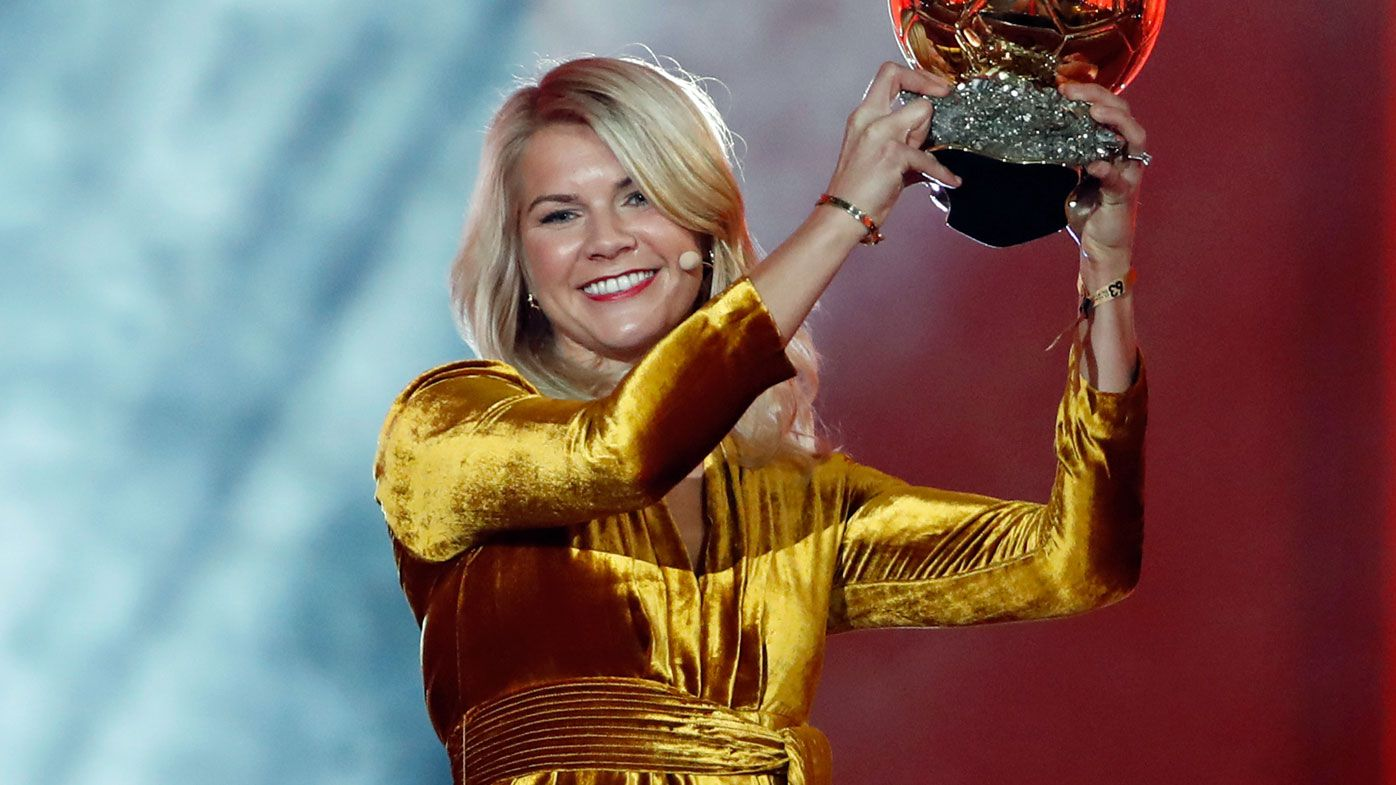 1st women's Ballon d'Or victor  asked if she 'twerked' during ceremony