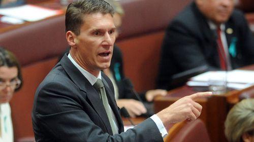 Liberal Senator Cory Bernardi. (AAP)
