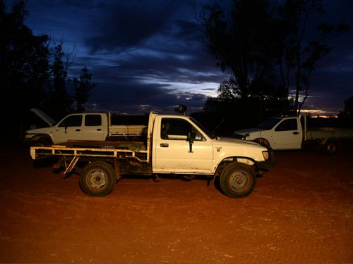 Mr Morrison said more utes being used was a sign of a strengthening economy. (AAP)