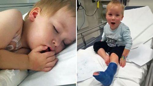 Parents of sick children protest Queensland hospital parking fees