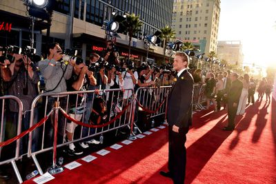 It was all about blonde babe Charlie Hunnam, aka Jax Teller, at the September 6 premiere.