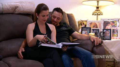 David and Hilenia Zavaglia face the prospect of their young family being torn apart. (9NEWS)