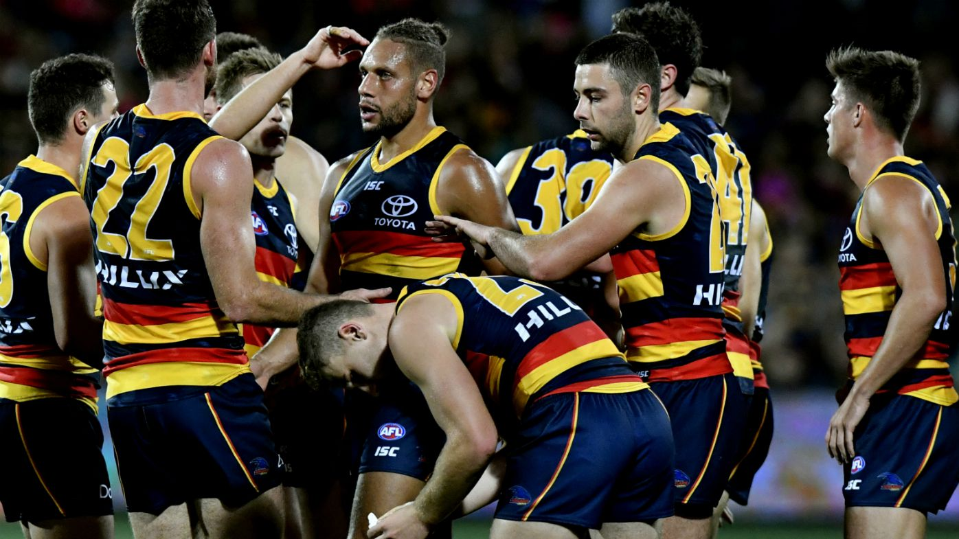 Injuries sour Crows' win over Suns in AFL
