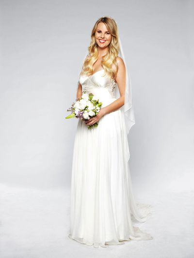 <em>Married at First Sight</em>'s Blair in her dream dress&nbsp;