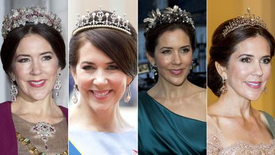 The tiaras worn by Crown Princess Mary of Denmark