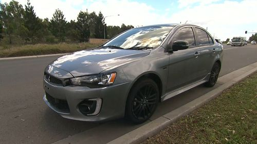 The P-plater was allegedly driving more than 140km/h.