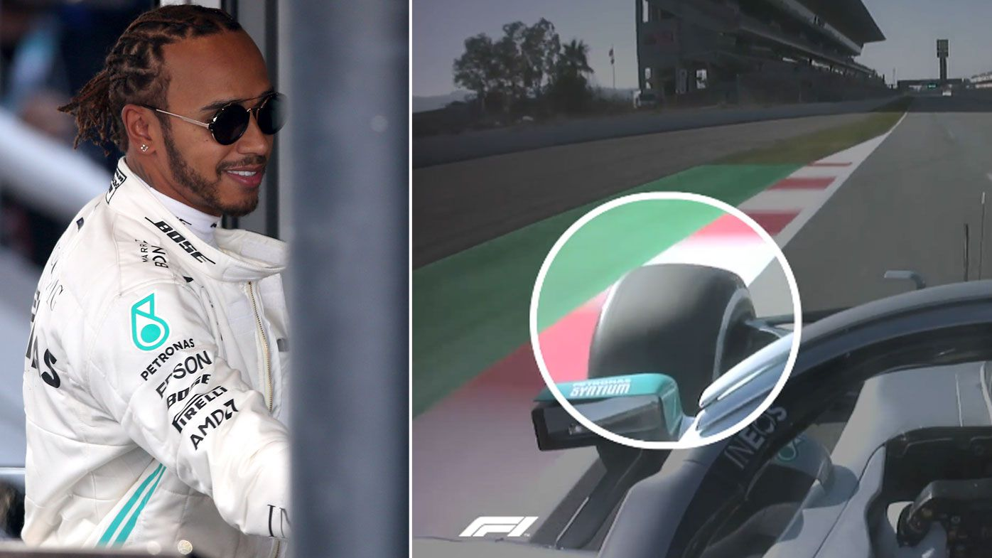 Mercedes test their new steering device