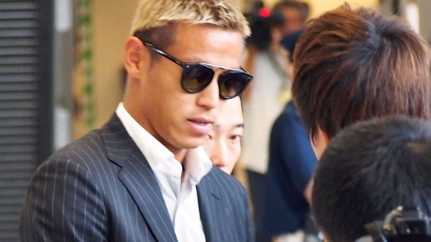 Melbourne Victory confirm Keisuke Honda as marquee A-League signing