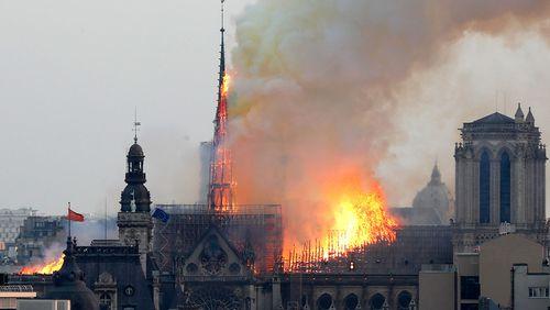 Notre Dame Paris fire
