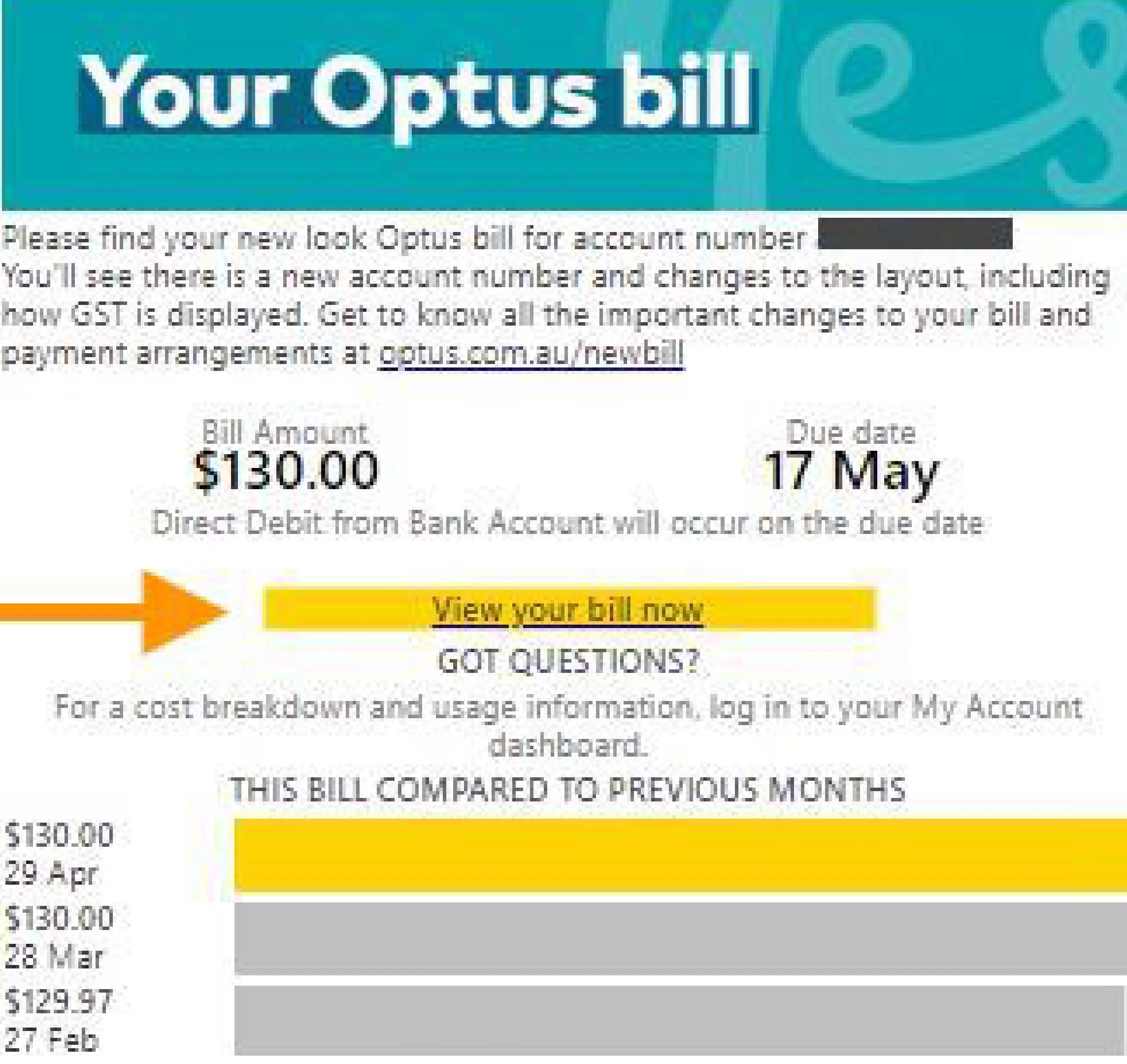 Optus email scam: Arrives in the guise of bill notifications