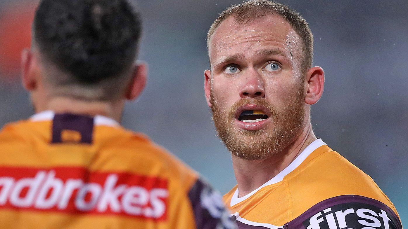 Brisbane Broncos prop Matt Lodge ruled out for the remainder of 2020 NRL season