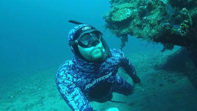 Free Diver Ant Judge