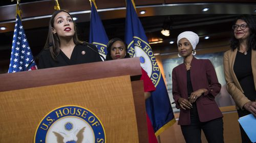 Donald Trump told Alexandria Ocasio-Cortez, Ayanna Pressley, Ilhan Omar and Rashida Tlaib to 'go back to where they came from'.