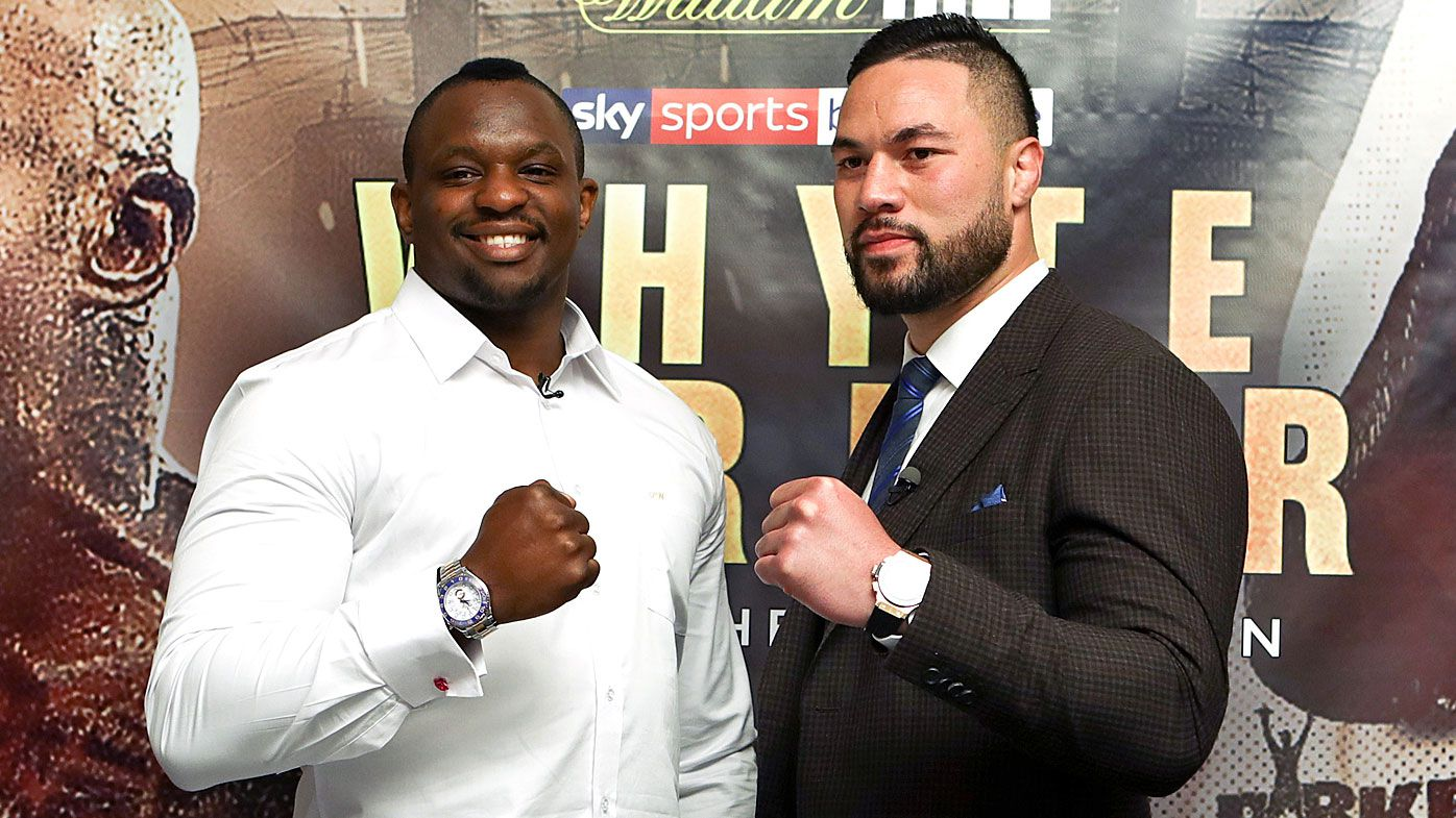 Joseph Parker and Dillian Whyte announce boxing bout in London in July