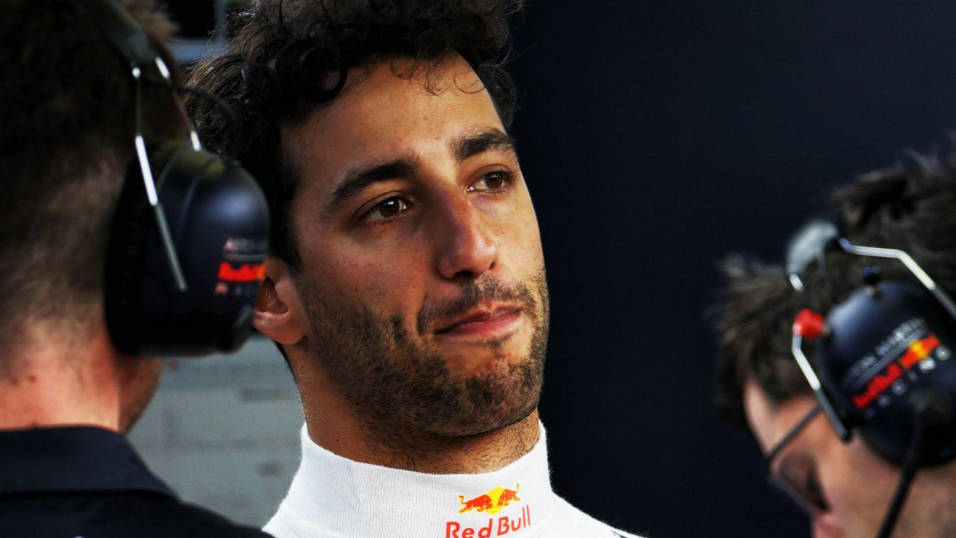 Daniel Ricciardo speaks to media