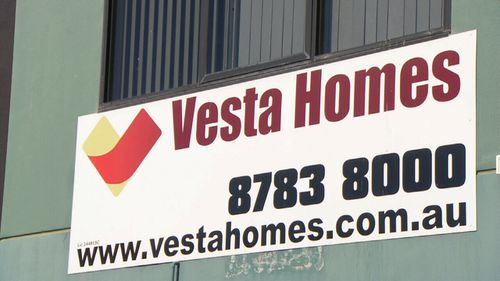 Mark and Jenny, and Andro, bought with Vesta Homes.