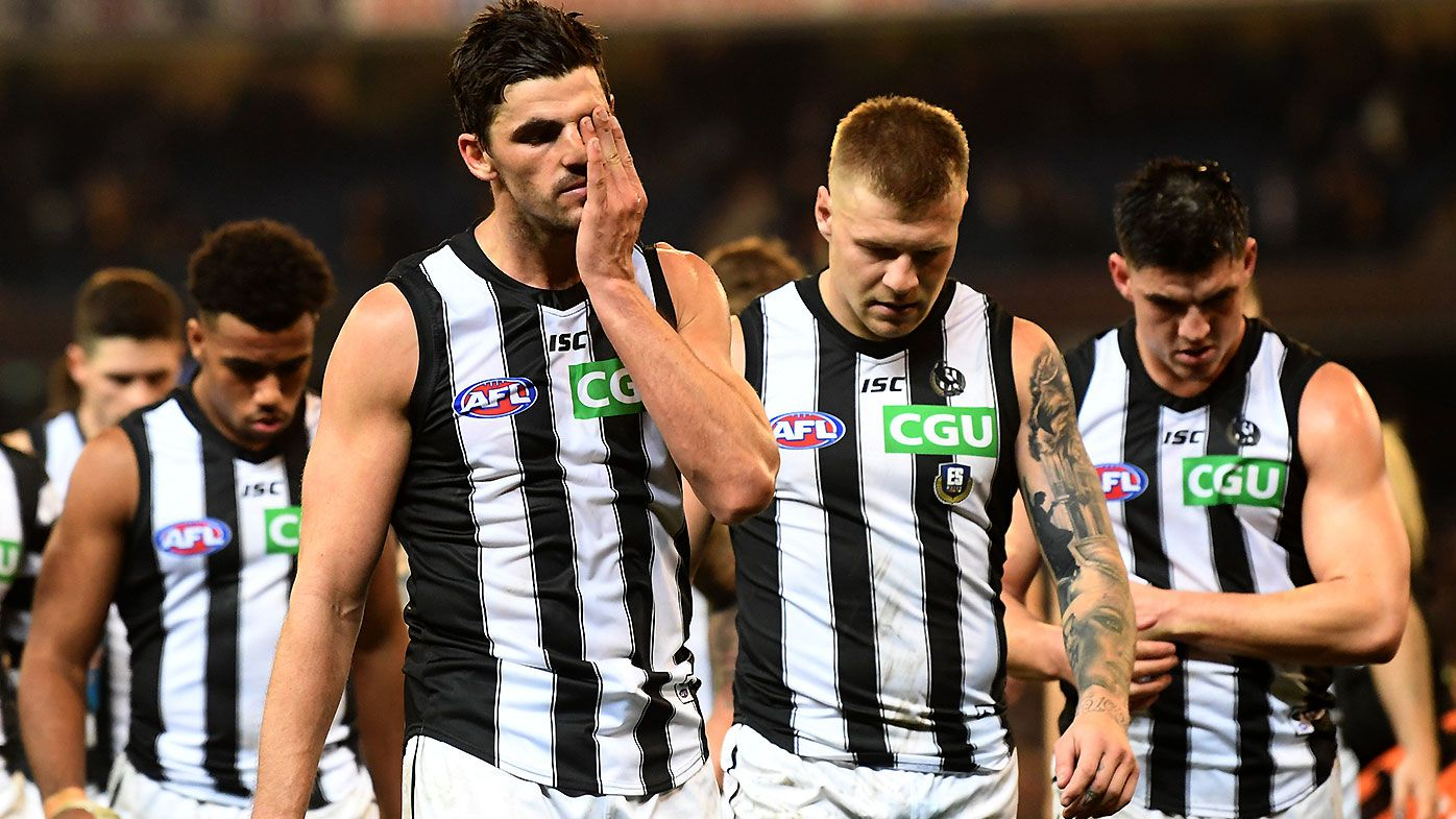 'A broken team structurally': The one worrying stat that shows clear Collingwood decline