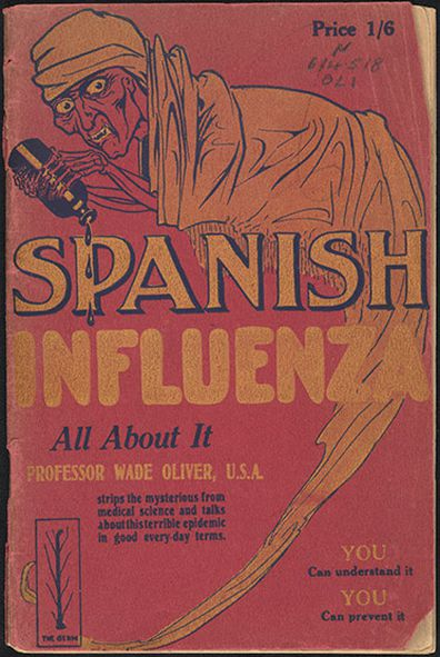 A book written by US Professor Wade Oliver on Spanish Flu
