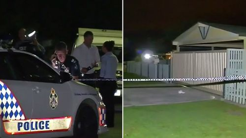 The off-duty officer was stabbed at a Deception Bay property. (9NEWS)