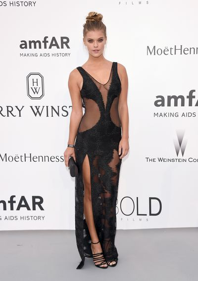 <p>&nbsp;Nina Agdal in Redemption Choppers</p>