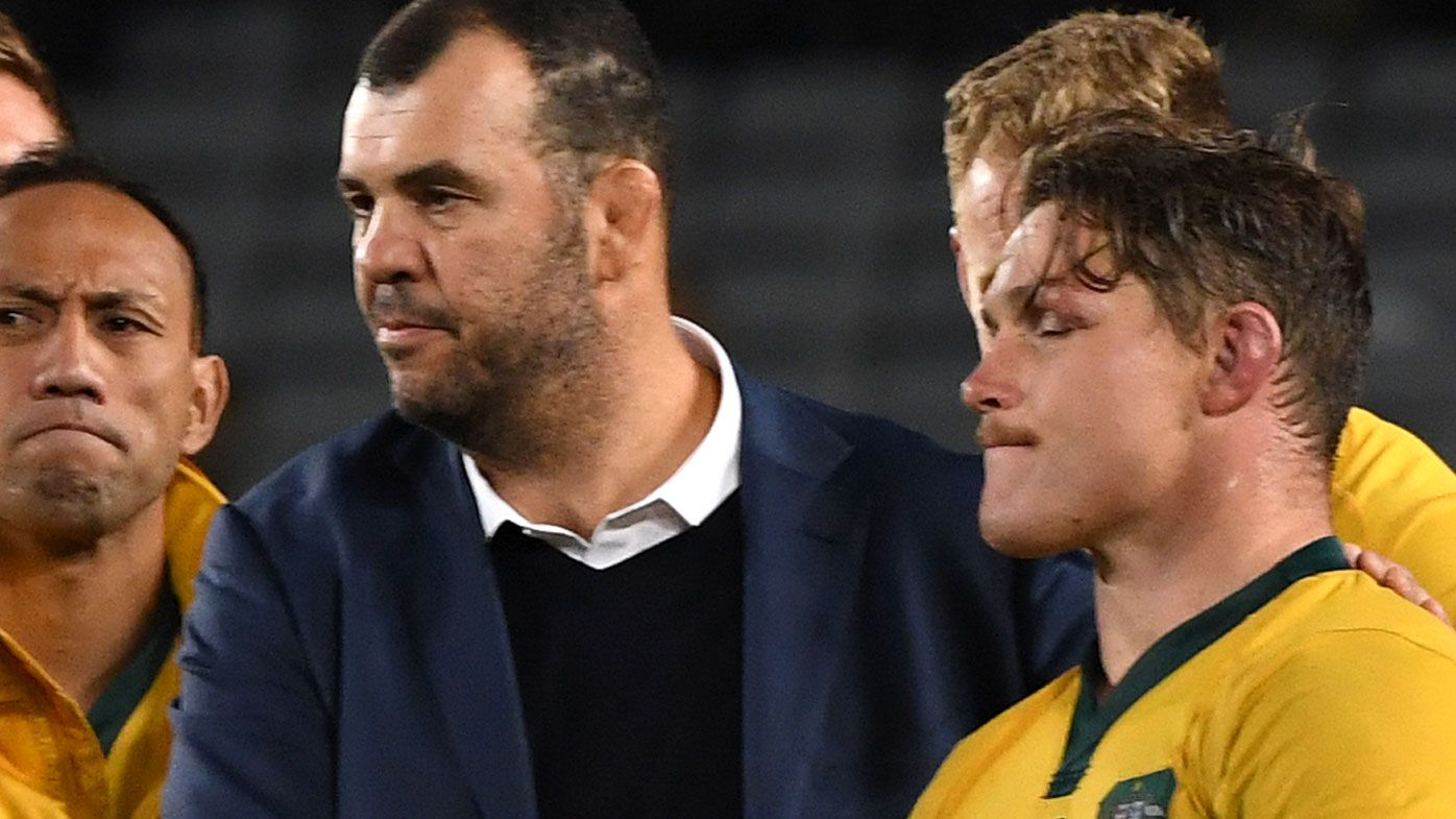 Wallabies Rugby World Cup squad a challenge for Michael Cheika after thumping