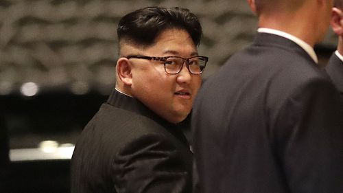 Kim Jong-un. (AAP)