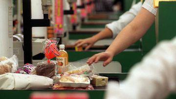 Supermarket checkouts.