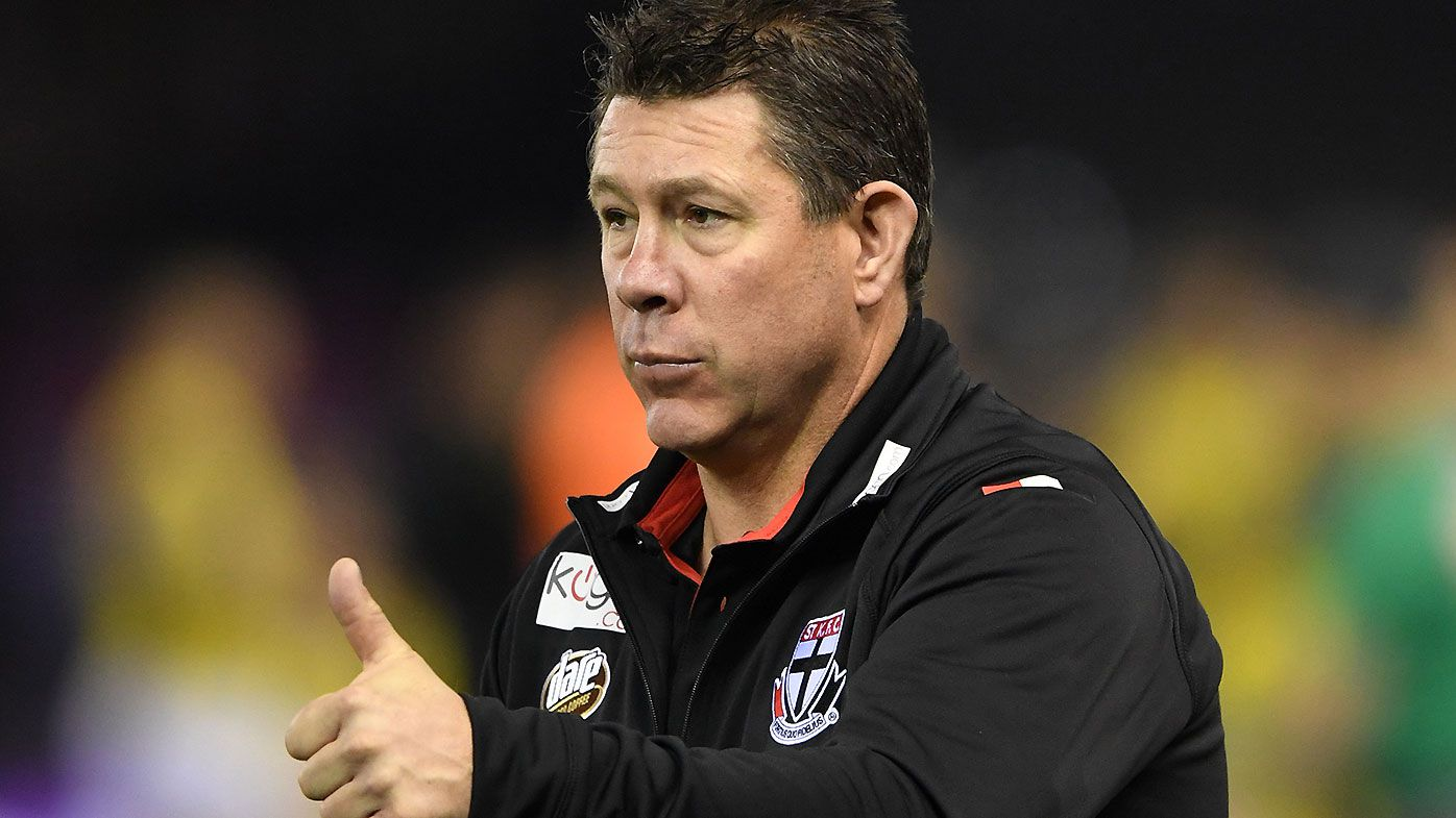 St Kilda caretaker coach Brett Ratten refuses to rule out stunning Carlton reunion