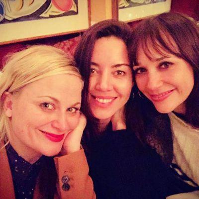 Amy Poehler, Aubrey Plaza and Rashida Jones