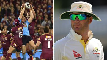Origin vs The Ashes - what will you be watching? (AAP)