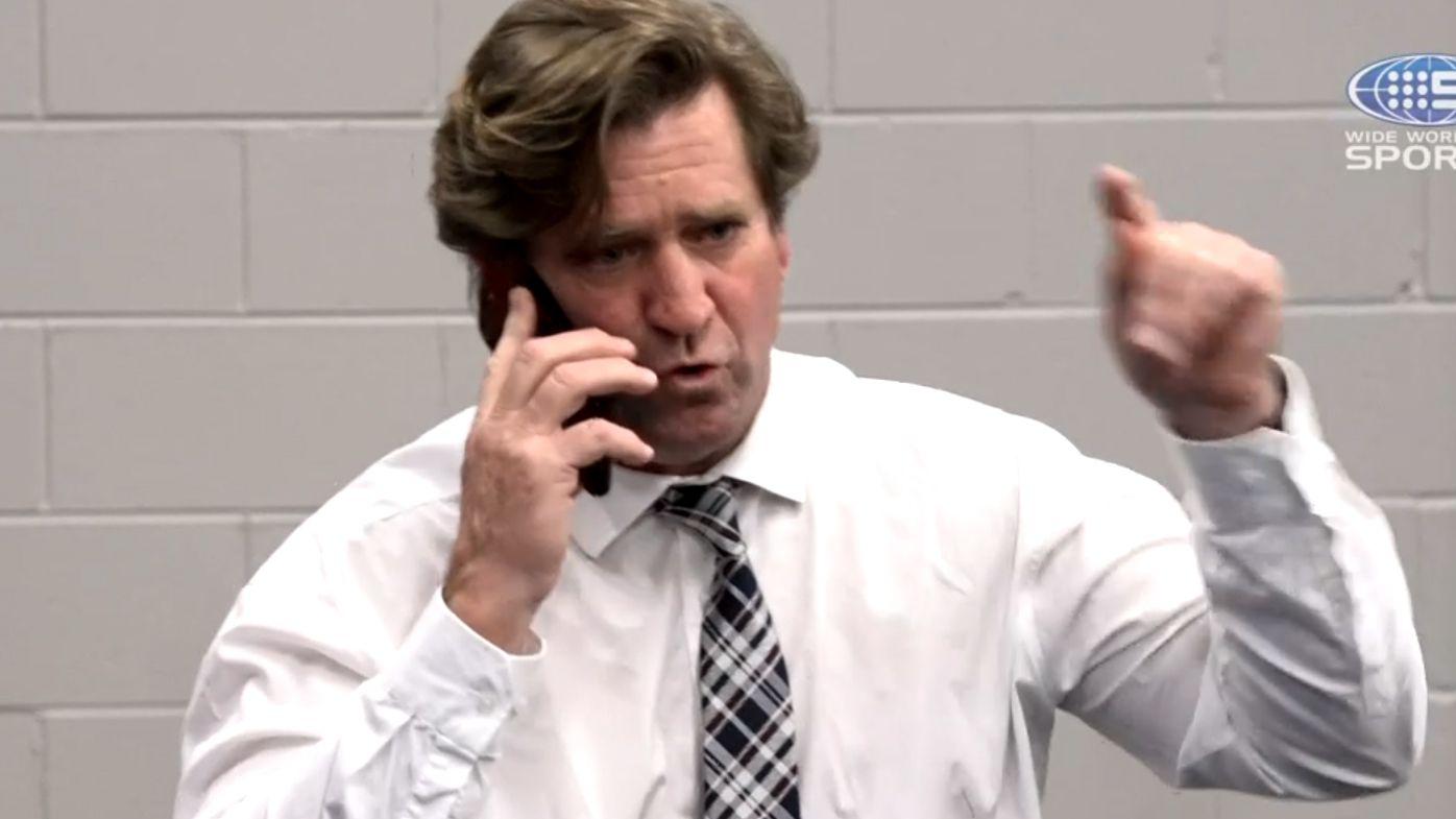 Des Hasler's furious phone call as Jake Trbojevic sin bin splits opinion