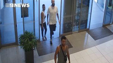 CCTV released of suspects in Sydney massage robbery