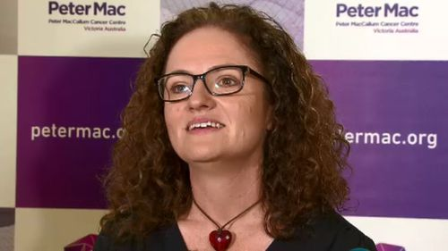 Kate MacDermid has used Tamoxifen for five years. (9NEWS)