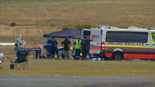 Mr Rokov died but was able to save the life of his teenage tandem partner. (9NEWS)