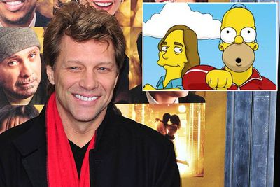During a chat with reporters to celebrate <i>The Simpsons</i>' 400th episode, its writers revealed that Bon Jovi was among the celebs who'd turned down the show. <br/><br/>He was apparently supposed to star in the (pretty crappy, actually) season 14 episode 'Brake My Wife, Please'; the part was given to another singer-songwriter, Jackson Browne.