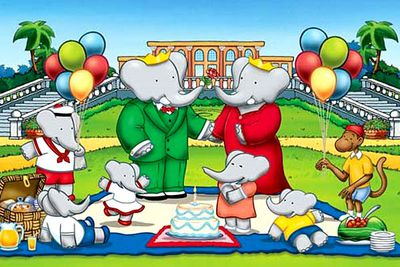 <B>Ran from:</B> 1989 to 1991<br/><br/><br/><B>Why it's awesome:</B> This series tells the story of a young elephant named Babar, who lives with humans and grows up to become king of the jungle. (Just go with it.) The struggles he faces in his journey to become king teach kids to never give up.