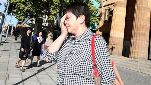 Chunping Quan is accused of biting a waiter during a scuffle outside an Adelaide restaurant. (AAP)