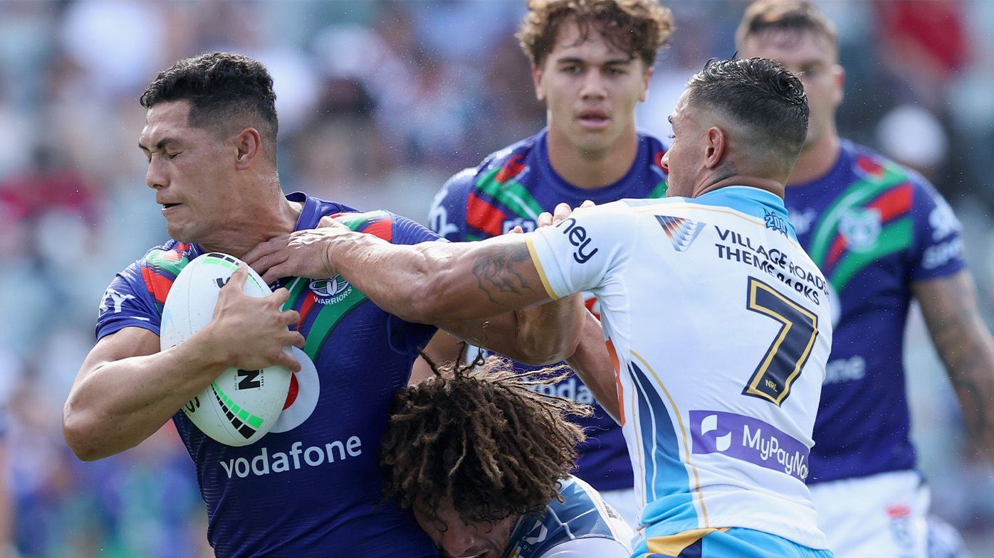 'All the hype': New-look Gold Coast Titans trounced in New Zealand Warriors rout