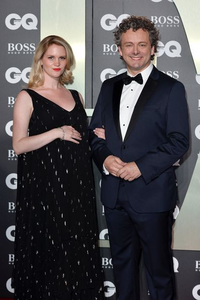 Anna Lundberg and Michael Sheen  attend the GQ Men of the Year Awards 2019