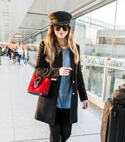 <p>Dakota Johnson went 50 shades lighter when she debuted a honey coloured 'do earlier this week.&nbsp;While Johnson has&nbsp;dyed her naturally dark blonde hair a deep brown for several years, it seems she has gone back to her roots as she rocked visibly lighter strands as she strolled through the airport.</p> <p>&nbsp;</p>