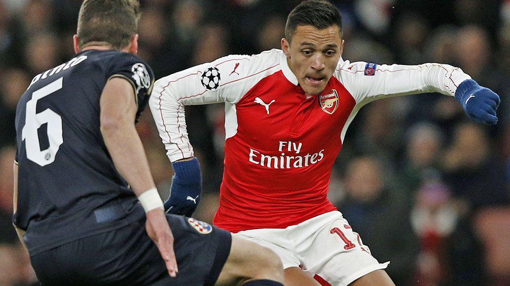 Gunners star Alexis Sanchez. (AFP)